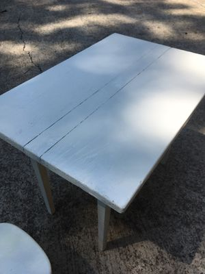 White Child's size table for Sale in Fairview, TN