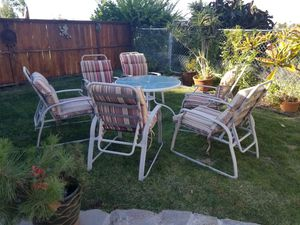 Patio furniture. Will sell together or separately for Sale in Cardiff, CA