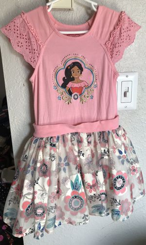 Disney Elena of Avalor dress for girls Size 5 for Sale in Tacoma, WA