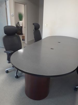 Office conference table for Sale in Franklin, TN