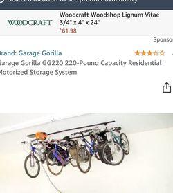 Garage Gorilla GG220 220-Pound Capacity Residential Motorized Storage System for Sale in Danville,  CA