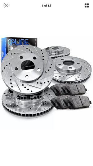 2015 Hyundai Sonata Drilled and slotted rotors new never used for Sale in Concord, NC