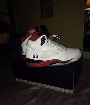 Air Jordan 5 for reds ( size 7.5 in men ) for Sale in Annandale, VA