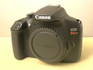 Canon eos rebel t6 w/ two lenses - GREAT CONDITION for Sale in Indianapolis, IN