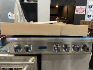 "Viking 36"" range top in stainless steel new open box for Sale in Riverside, CA"