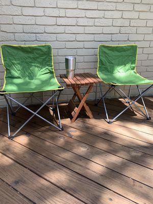 Small Camping Chair (set of 2) for Sale in Arlington, TX