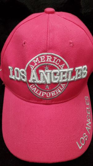 LA pink hat for Sale in Ontario, CA