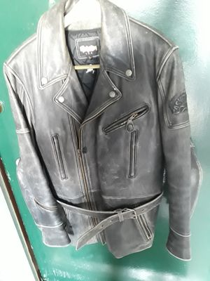 Motorcycle jacket one of a kind made for Easyriders Magazine editor size large for Sale in Santa Monica, CA