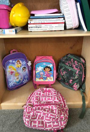Backpack Assortment for Sale in Kirkland, WA