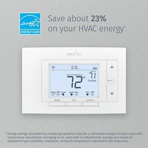 Over 60% OFF RETAIL!! ST55, Sensi™ WIFI Smart Thermostat SMART HOME COMPATIBLE Retail $129 for Sale in Dallas, TX