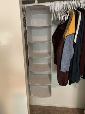 Closet organizer for Sale in Belmont, CA