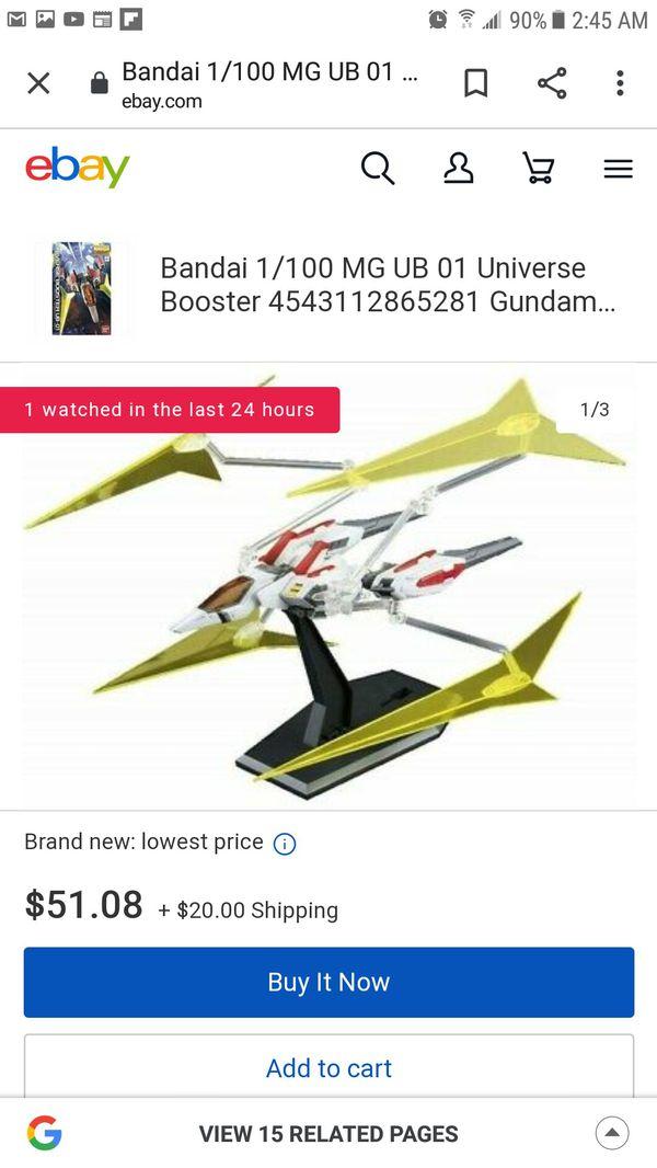 UNIVERSE BOOSTER UB-01 Star Build Gundam Support Unit!!