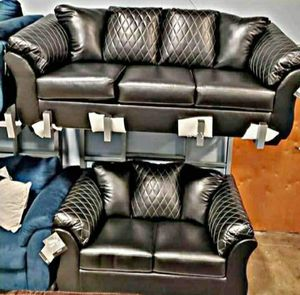 💲🤝39$ Down Payment🍓❗Betrillo Black Living Room Set for Sale in Fort Washington, MD