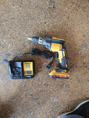 Dewalt driwall drill 20 volt for Sale in Lake Elsinore, CA