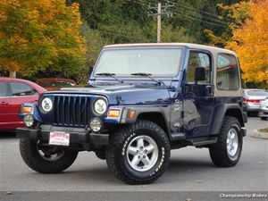 2001 Jeep Wrangler for Sale in Redmond, WA
