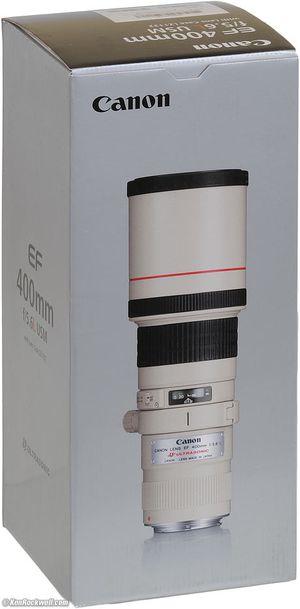 Canon EF 400mm f/5.6L USM Lens for Sale in Atlanta, GA