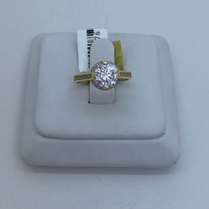 Wedding ring cz 14k for Sale in Tampa, FL