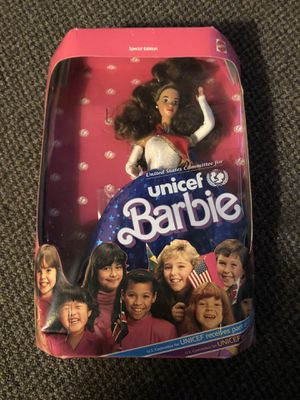 1989 unicef Barbie for Sale in Omaha, NE
