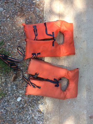 2 Life jackets for Sale in Lewisberry, PA