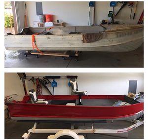1961 Starcraft Aluminum Fishing Boat for Sale in Gilbert, AZ
