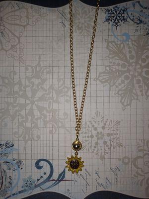 Sunflower necklace for Sale in Batesburg-Leesville, SC