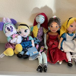 Disney Plushes Alice, Elena, Elsa, Minnie Or Sally for Sale in Miami, FL