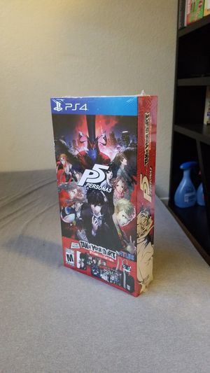 PS4 - Persona 5 Take Your Heart Collectors Edition for Sale in Stockton, CA