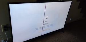 50inch Samsung 4k smart tv. Broken for Sale in Springfield, OR