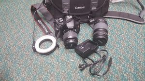 Canon EOS Rebel T3i Camera with 18-55mm and 75-300mm Lens for Sale in Baltimore, MD