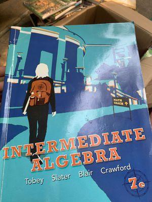 Intermediate Algebra (7th Edition) 7th Edition ISBN-13: 978-0321769503, ISBN-10: 9780321769503 for Sale in Sacramento, CA