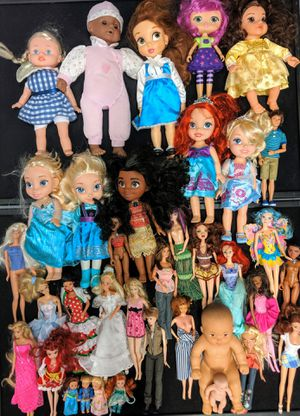 Disney Barbie and Kelly dolls $1 each for Sale in Hyattsville, MD