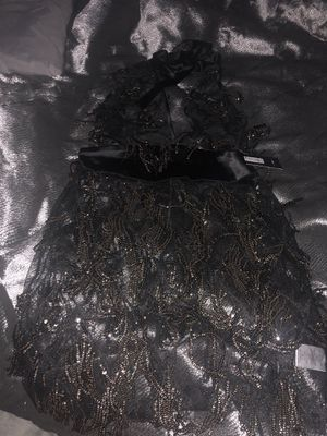 New Black Fringe Dress for Sale in Richmond Heights, OH