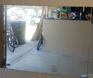 """Mirror 76"""" X 44"""" (6'4"""" X 3'8"""") for Sale in Ontario, CA"""