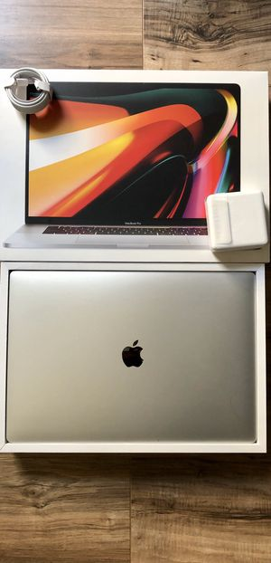 "NEW 2020 16"" MacBook Pro 6-Core 512GB i7 Touch Bar Retina Display with Apple Warranty 2021 for Sale in Los Angeles, CA"