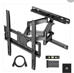PSMFK9 Full Motion TV Mount for 32-55 Inch TVs with Upgraded Wall Plate (Reseda ca) for Sale in Los Angeles, CA