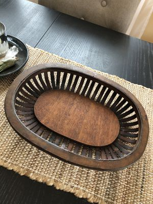 Rustic wooden basket. for Sale in Burbank, IL