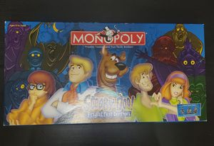 Scooby-Doo Monopoly. Fright Fest Edition for Sale in Seattle, WA