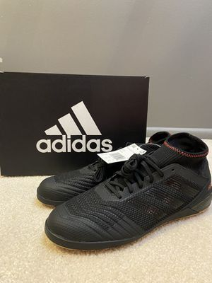 Adidas Mens Predator 19.3 Black Indoor Soccer Shoes D97964 Sz 10 NEW IN BOX for Sale in Madison, WI