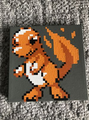 Handpainted Pokemon and Dragonball Z art on canvas for Sale in Seattle, WA