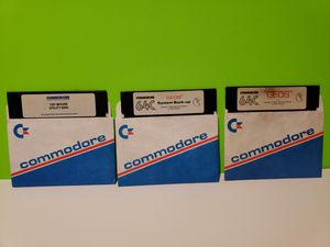 Commodore 64 Geos Software Floppy Disk Lot for Sale in Denver, PA
