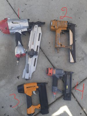 Nail gun , staples gun for Sale in Los Angeles, CA