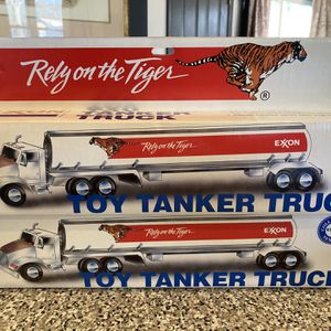 Vintage Exxon Tanker Truck Set Of Two for Sale in Waterford Works, NJ