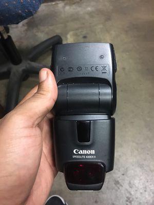 Canon Speedlite 430Ex 2 for Sale in Houston, TX