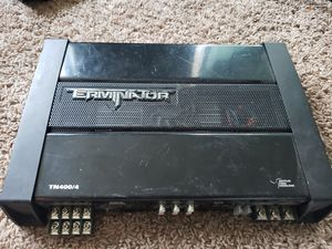 MTX terminator amp 400/4 600max watts for Sale in Bladensburg, MD