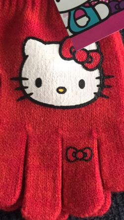 Hello kitty gloves for kids for Sale in Worcester,  MA