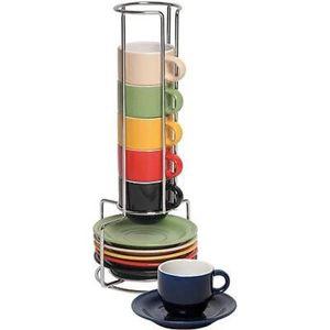 Mr. Coffee Espresso Basics 12-Piece Espresso Set with Caddy for Sale in Lynn, MA