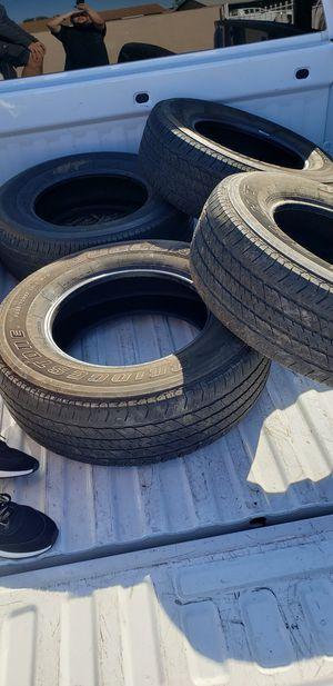 4 tires - 255 70 R 17 for Sale in Phoenix, AZ