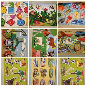 Choose any 4 wood Puzzles for Sale in Wheat Ridge, CO