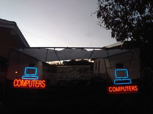 Computer lights sing for Sale in Los Angeles, CA