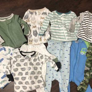 Baby Boy Clothes - Newborn And 0-3 Months for Sale in Weston, FL